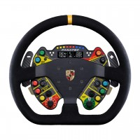 Podium Steering Wheel Porsche 911 GT3 R Suede