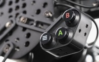Adjustable button clusters.